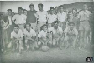 Imperio Azul en Huelma agosto de 1955