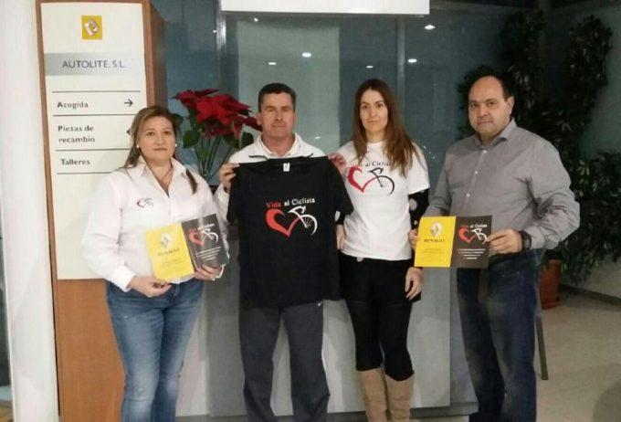 Toni Chica y Tomás Diaz junto a Pedro y Sonia Liébana