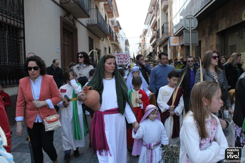 "Photo of Los niños celebraron el Domingo de Ramos de forma ""diferente"""