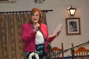 La Presidenta Mª del Mar Casas