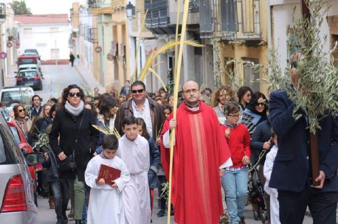 La Procesión recorrió las calles de Mancha Real