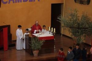 Santa Misa oficiada por Don Miguel Lendinez