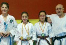 Photo of Cuatro medallas en el campeonato de Andalucía de Karate Infantil