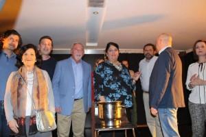 Alcaldesa con los Concejales