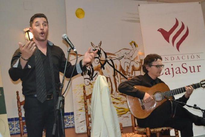 Cantaor Guillermo Cano con Paco Cruzado a la guitarra