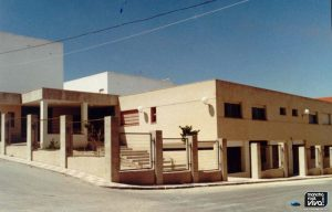 Centro de Salud antes de su puesta en marcha, 1990
