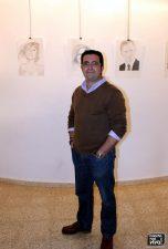 El artista Diego López de Dios