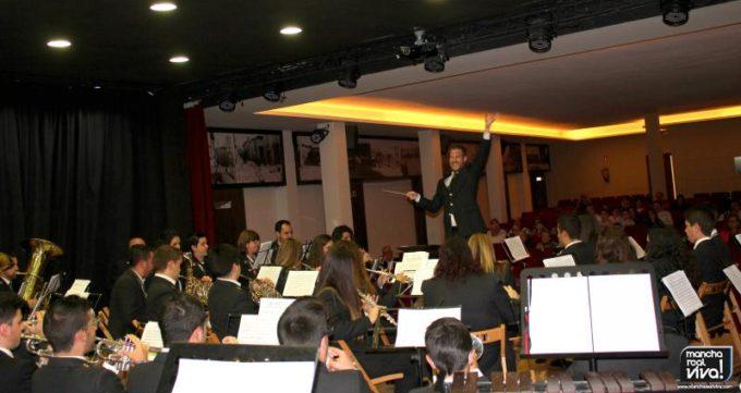 La A.M. Amigos de la Música durante el Concierto