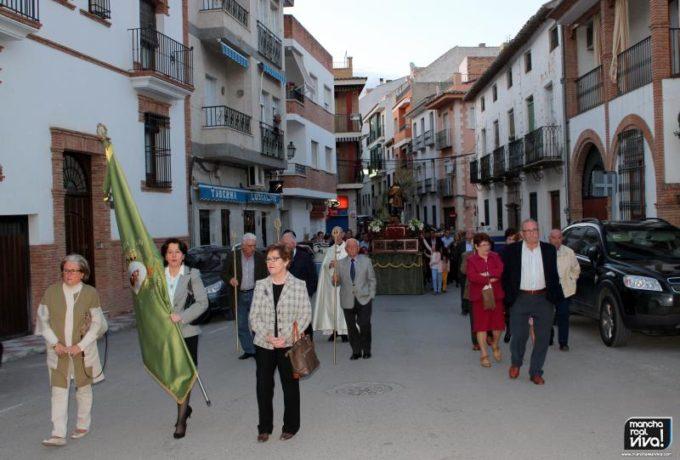La Procesión por las calles de Mancha Real