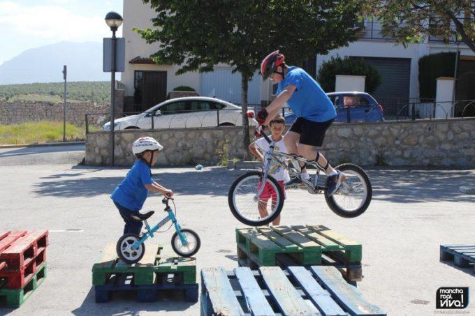 Los niños disfrutaron con   el curso