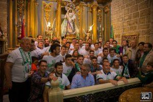 Ofrenda a la Virgen del Rosario