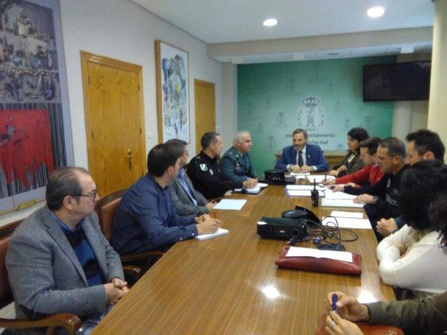 Juan Lillo y Mª del Mar Dávila presiden la Junta Local de Seguridad