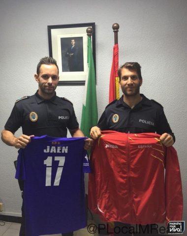 Manuel y Javier participarán en los Juegos Europeos de Policías y Bomberos 2016