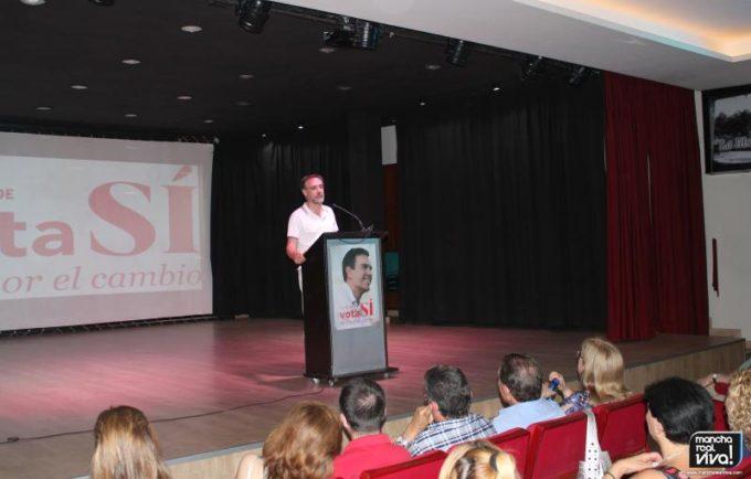 Felipe López en su intervención