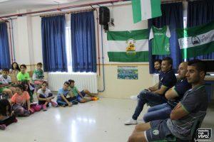 Momento de las preguntas de los alumnos