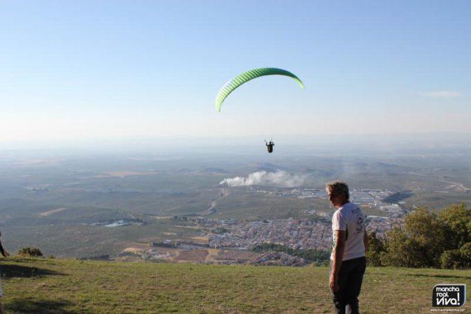 Espectacular el vuelo y el paisaje que se ve desde la zona de despegue