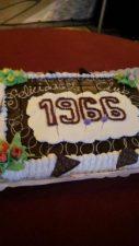 No faltó la tarta de aniversario