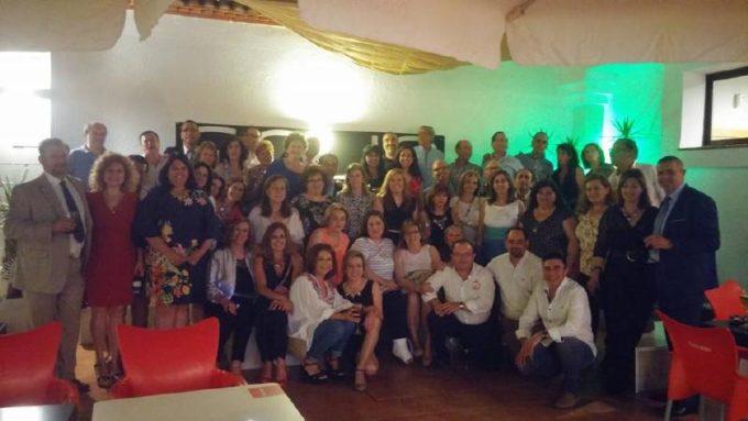Foto del grupo que seguro será muy recordada