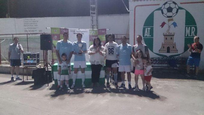 Equipo Ganador Valverde Olive World con Mª del Mar Dávila y Ernesto Angulo