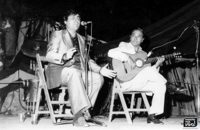 José de la Tomasa y Juan Habichuela fallecido recientemente, en una de las primeras ediciones