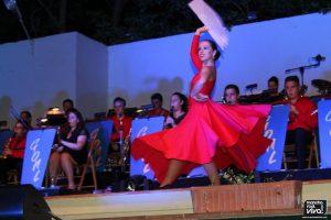 Mucho arte en el baile