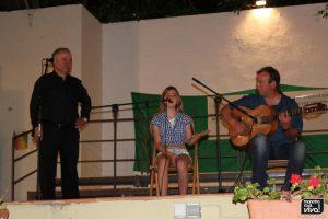 El cante flamenco estuvo presente
