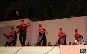 Marcos Cruz con el Ballet de Linares