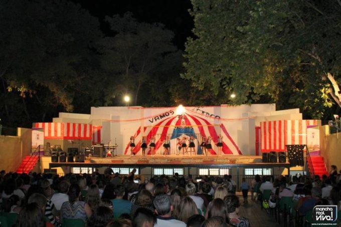 El recinto se llenó para ver el espectáculo