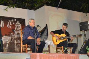 Juan Mª de Dios con José M. Moreno
