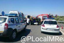 Photo of Grave accidente en la nueva rotonda de entrada a Mancha Real