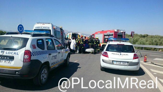 Al lugar se desplazaron Policía Local, 061 y Bomberos