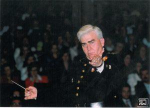 Agustin Diez en una de sus conciertos como Director