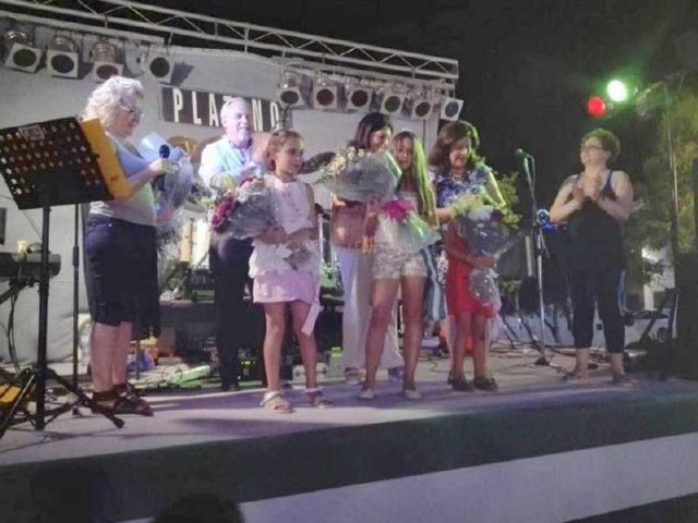Momento bonito el de la eleccion de Reina de las Fiestas y Damas de Honor