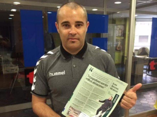 Juan Arsenal, un entrenador de Hellín que triunfa en Mancha Real
