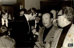 Viaje de la peña a Barcelona en los 70