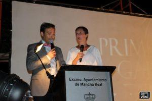 Maite Salido y Manuel Gómez fueron los presentadores