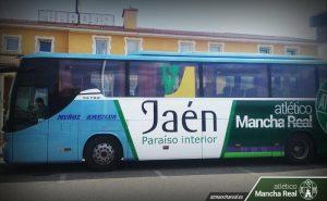 Llegada del autocar a Almendralejo