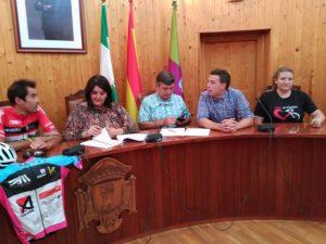 Firma de la organización y el Ayuntamiento
