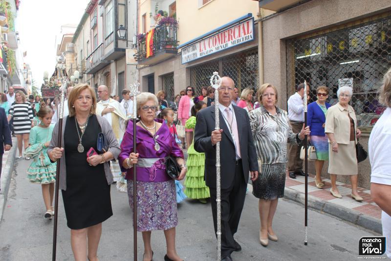 Cofradía Virgen del Rosario en 2015