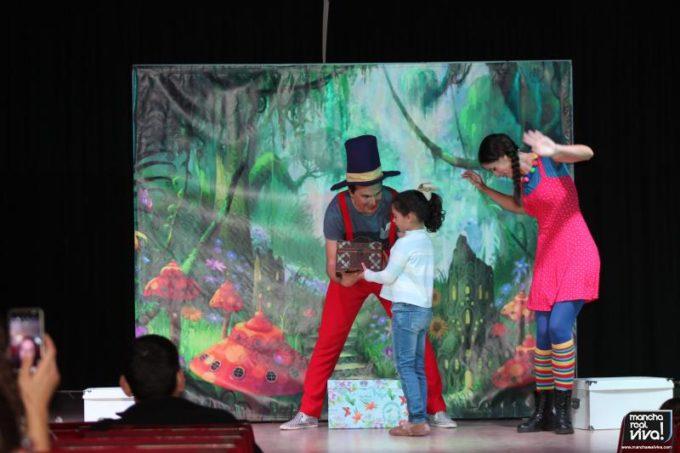 Los niños participaron del Cuentacuentos