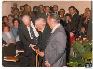 Homenaje por los 100 años cumplidos