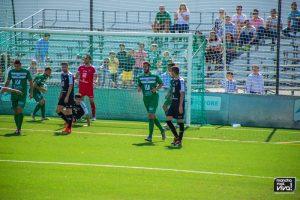 Josema marcó el único gol de los verdes
