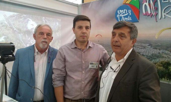 Joaquín Cuevas, Ildefonso Ruíz y Jesús Jordán