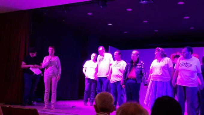 El acto fue presentado por Maite Salido