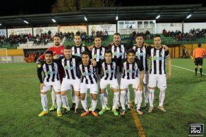 Equipo de inicio del CF Badajoz