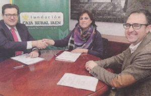 Momento de la firma (Foto Agustín Muñoz)
