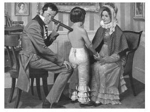 Antiguo médico con un fonendoscopio