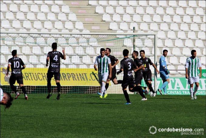 El gol de los verdes fue obra de Airam Benito