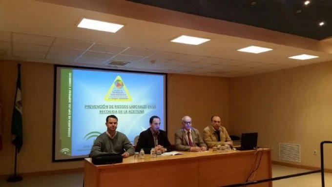 Jornadas de Prevención de Riesgos Laborales durante la Campaña de Aceituna