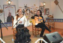 Photo of La Peña EL TRILLO disfruta de una noche de flamenco con Rosi Campos y Antonio Carrión